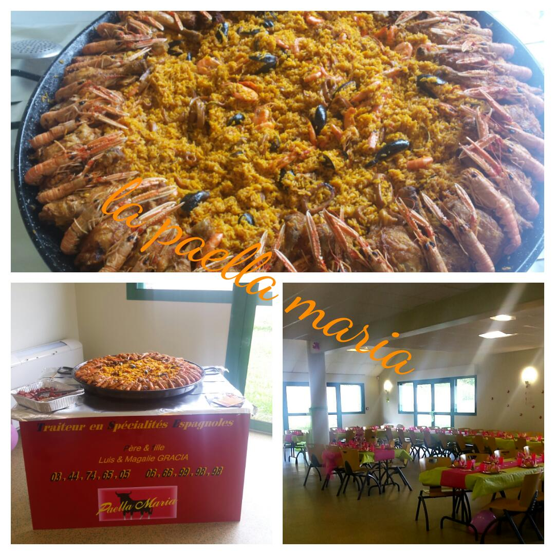 Paella Maria 70 personnes